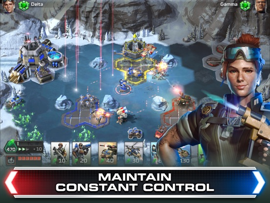 Amelia Borella voices characters for EA Games Command & Conquer Rivals