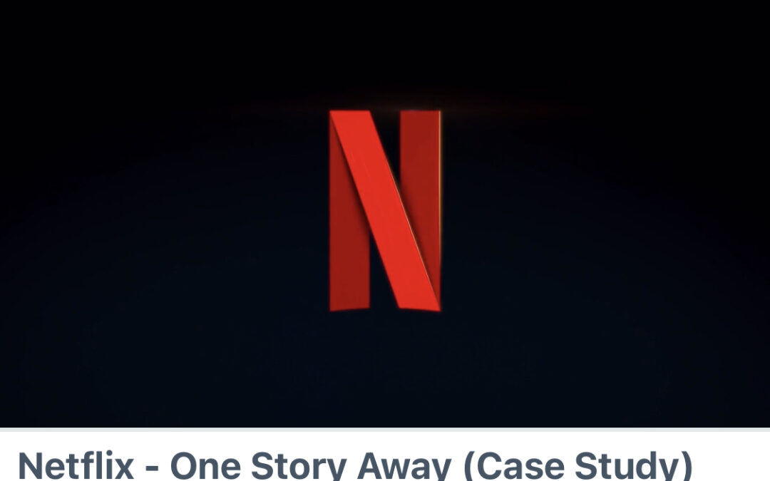 Netflix Case Study shortlisted at Cannes